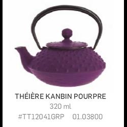 Théière Iwachu en fonte - 320ml - violette