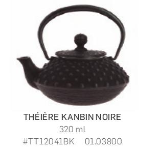 Théière Iwachu en fonte - 320ml - noire