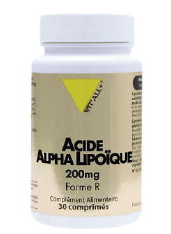 Acide Alpha Lipoïque 200 mg (30 cpés )