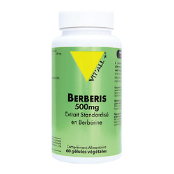 Berberis 500 mg (60 cpés)