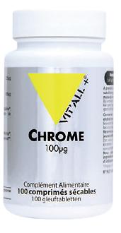 Chrome 100 µg (60 cpés)