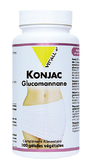 Konjac BIO 500 mg (100 gélules)