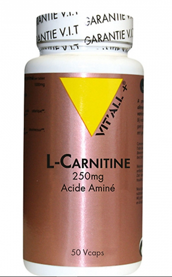 L - carnitine 250 mg (50 gélules)