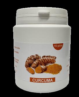Gélules curcuma - herboristerie du Dr. SAMMUT - 180 gélules