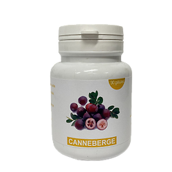 Gélules canneberge - herboristerie du Dr. SAMMUT - 90 gélules