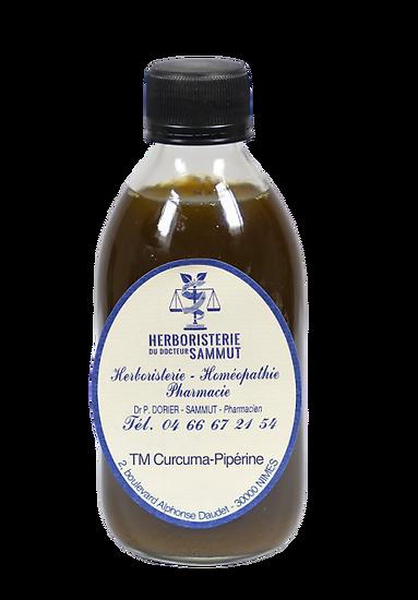Gouttes Curcuma - Pipérine BIO - herboristerie du Dr. SAMMUT BIO
