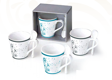 Tasse à tisane - Dandelion bleu