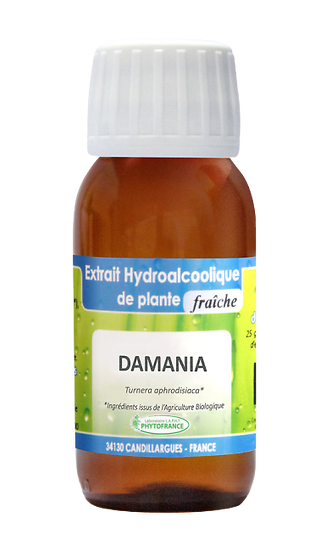 Teinture Mère de damiana - Phytofrance 60ml