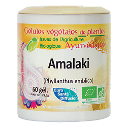 Amalaki / Groseillier indien - 60 gélules