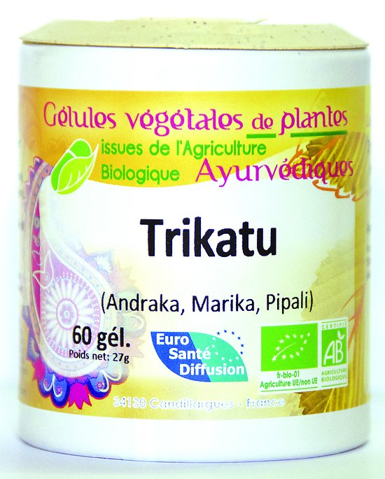 Trikatu - 60 gélules