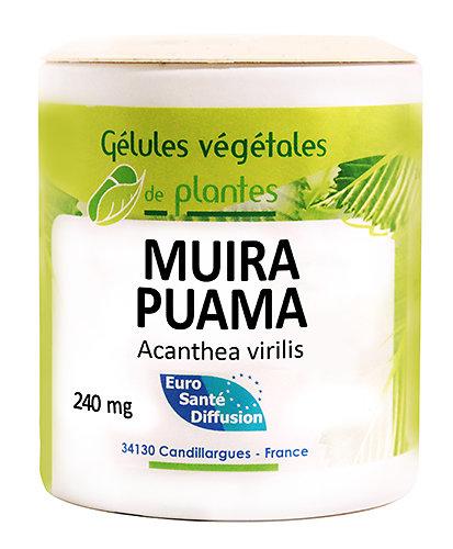 Muira puama ou Bois bandé - 100 gélules