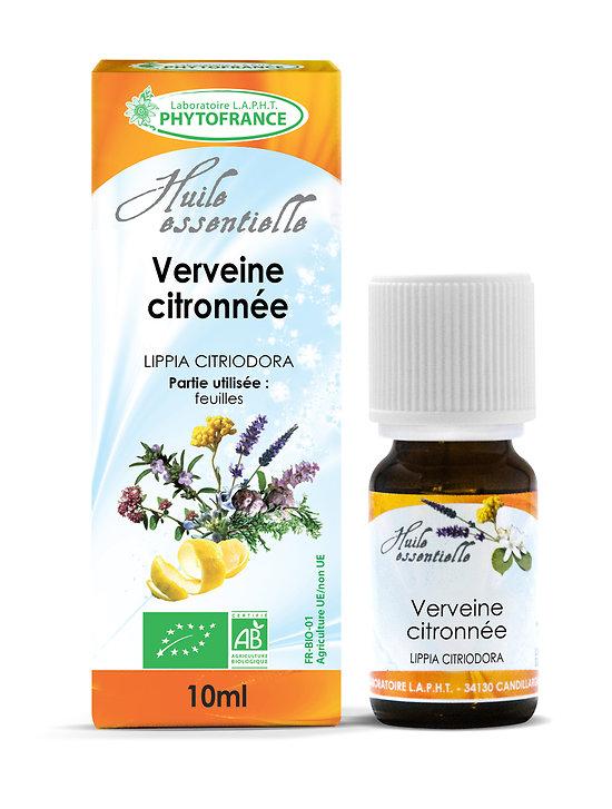 Verveine citronnée BIO - Huile Essentielle - Phytofrance - 10ml