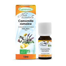 Camomille romaine BIO - Huile Essentielle - Phytofrance - 10ml