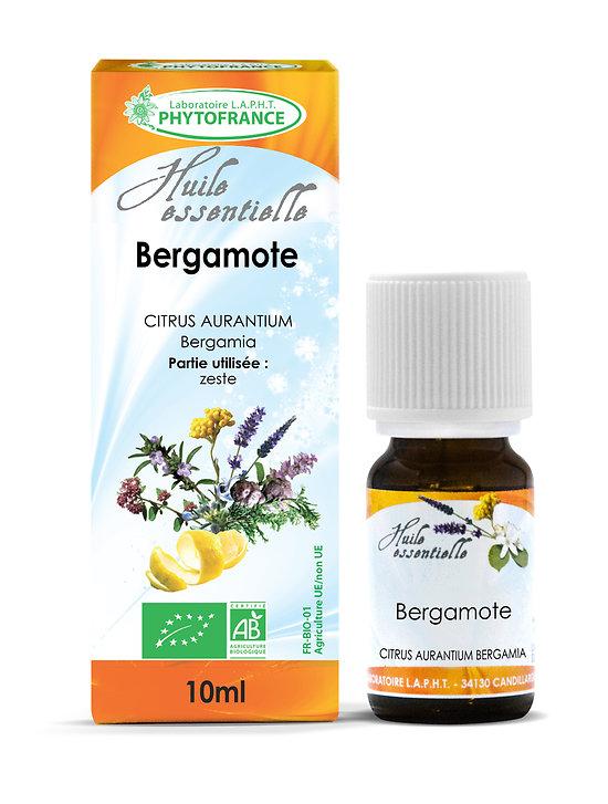 Bergamote BIO - Huile Essentielle - Phytofrance -10ml