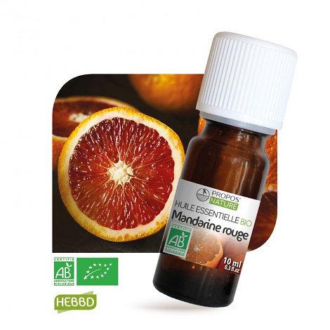 Mandarine rouge BIO - Huile Essentielle - Propos nature - 10ml