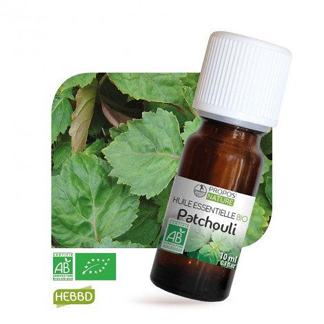 Patchouli BIO - Huile Essentielle - Propos nature - 10ml