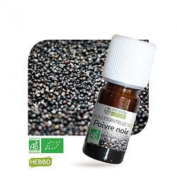 Poivre noir BIO - Huile Essentielle - Propos nature - 10ml