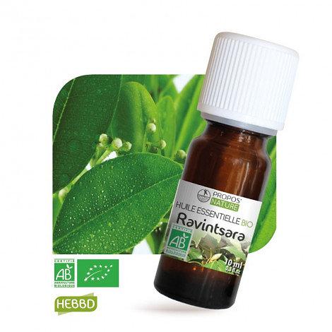 Ravintsara BIO - Huile Essentielle - Propos nature - 10ml