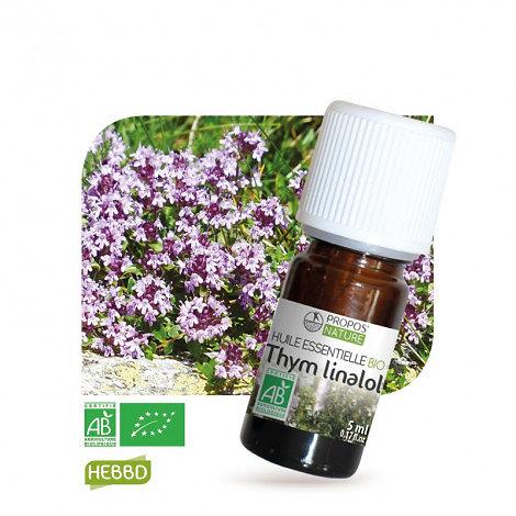 Thym à linalol BIO - Huile Essentielle - Propos nature - 10ml