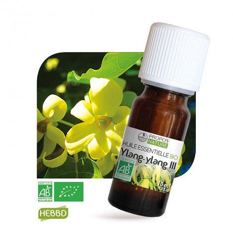 Ylang-ylang BIO - Huile Essentielle - Propos nature - 10ml
