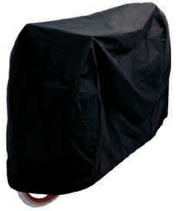 """HOUSSE PROTECTION VELO LUXE 24""""/29"""" 165x100 A VELCROS IMPERMEABLE NOIRE"""