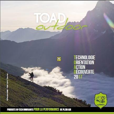 Catalogue des produits TOAD Outdoor