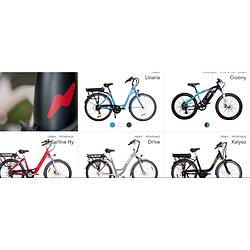 Catalogue des vélos électriques NEOMOUV