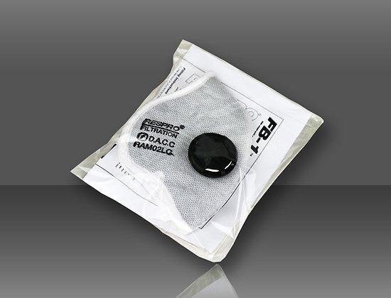 Kit de valves et filtre chimique/particule pour masque RESPRO FB-1