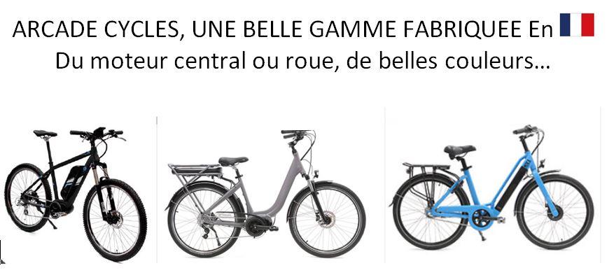 La gamme ARCADE Cycles