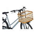 Panier à vélo en rotin  Green Life