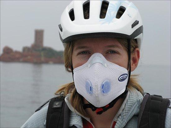 masque anti pollution respro allergy mask. Black Bedroom Furniture Sets. Home Design Ideas