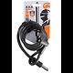 Câble de verrouillage Plug in Axa RLE 150/10 noir