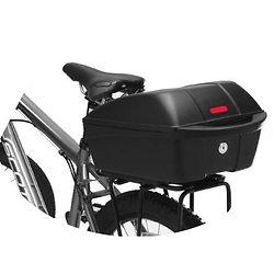 """Coffre """"Top Case"""" pour porte bagage vélo"""