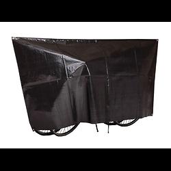 Housse a vélo VK internationnal imperméable noir pour 2 vélos