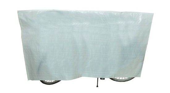 Housse à vélo VK international imperméable cover blanche