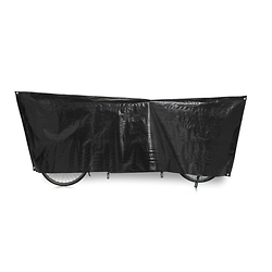 Bâche de protection Tandem VK 110 x 300 cm noir avec oeillets