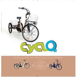 Catalogue des tricycles CYCLO2