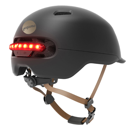 Casque LED + Stop H60