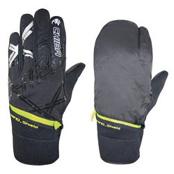 GANTS CYCLISTE HIVER CHIBA OVERFLAP
