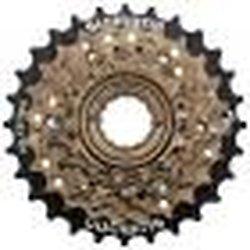 ROUE LIBRE SHIMANO 7V A VISSER 14/28 DENTS TZ500
