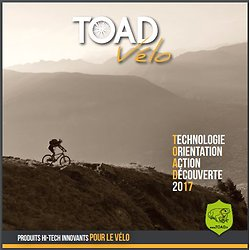 Catalogue TOAD des produits Hi-Tech innovants pour le vélo