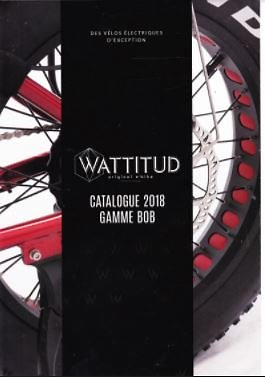 Catalogue de la collection E-BOB WATTITUD