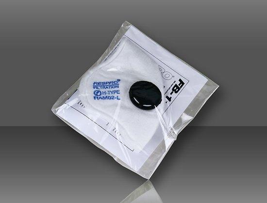 Kit de filtre et valves à particules pour masque FB-1