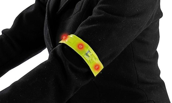 Brassard de sécurité lumineux