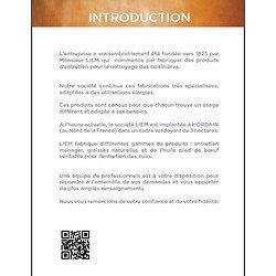Catalogue LIEM PAULIN des produits d'entretien