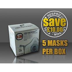 Combo de cinq masques Respro S3V StreetSmart