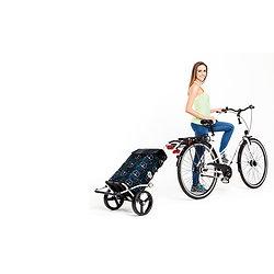 ROYAL  Shopper roues de 25 cm à 3 batons