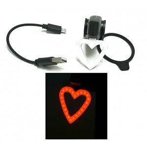 Lampe arrière USB Love