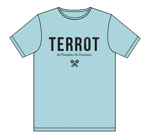 "Teeshirt TERROT ""baton logo"""
