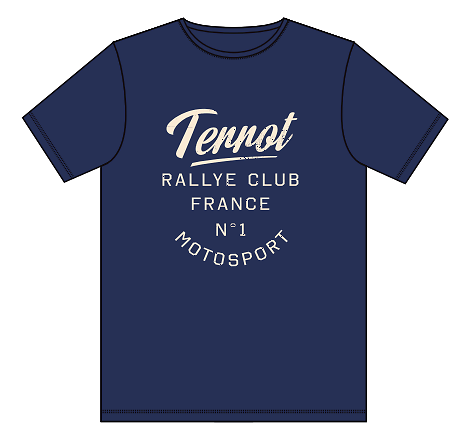 "Teeshirt TERROT ""rallye club"""